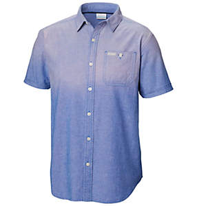 Men's Pilot Peak™ Chambray Short Sleeve Shirt