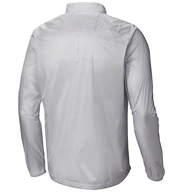 Men's F.K.T.™ Wind Jacket F.K.T.™ Wind Jacket | 031 | L, Cool Grey Embossed Print, White Zip, back