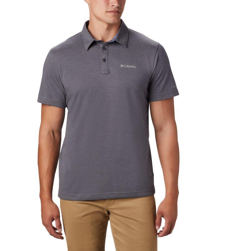 Thistletown Ridge™ Polo | 023 | XXL Men's Thistletown Ridge™ Polo, City Grey, Shark, front