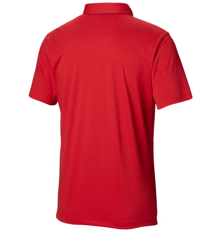 Thistletown Ridge™ Polo | 613 | S Men's Thistletown Ridge™ Polo, Mountain Red, back