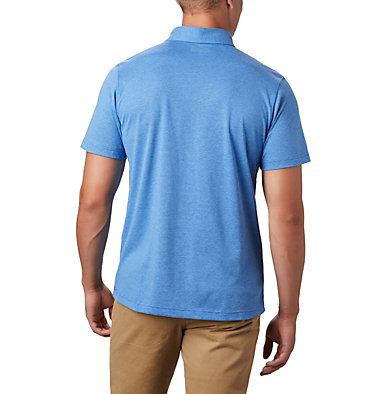Men's Thistletown Ridge™ Polo—Tall Thistletown Ridge™ Polo | 023 | LT, Sky Blue, Azul, back