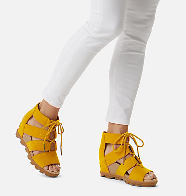 Sandali Joanie™ II Lace da donna JOANIE™ II LACE | 224 | 7, Golden Yellow, video