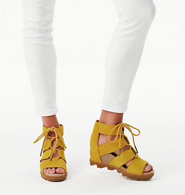 Women's Joanie™ II Lace Sandal JOANIE™ II LACE | 224 | 7, Golden Yellow, video