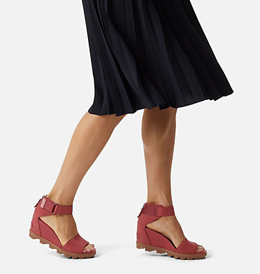 Women's Joanie™ II Ankle Strap Sandal JOANIE™ II ANKLE STRAP | 241 | 10, Dusty Crimson, video