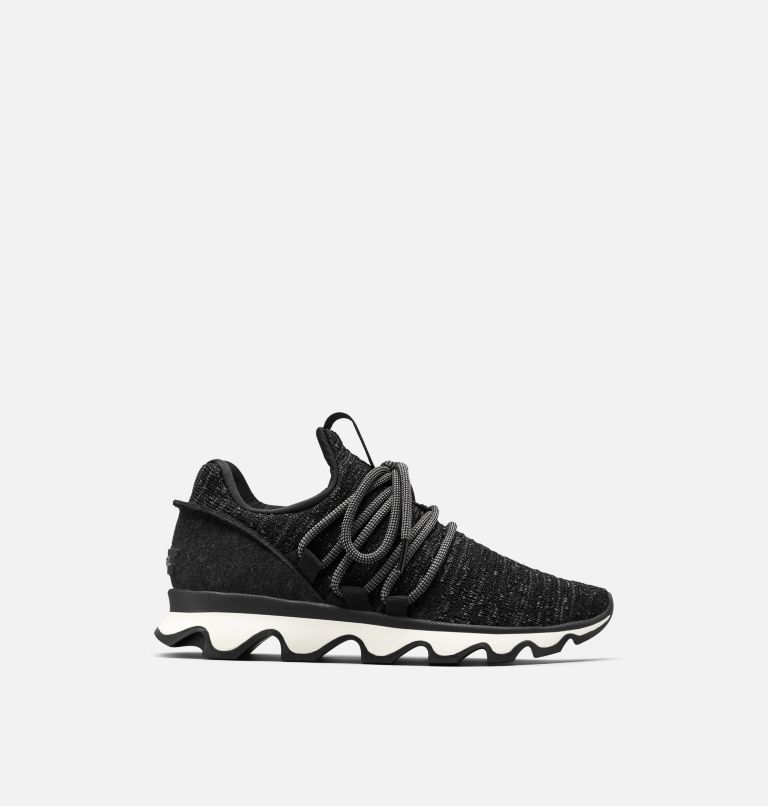 KINETIC™ LACE | 011 | 7.5 Women's Kinetic™ Lace Sneaker, Black, front