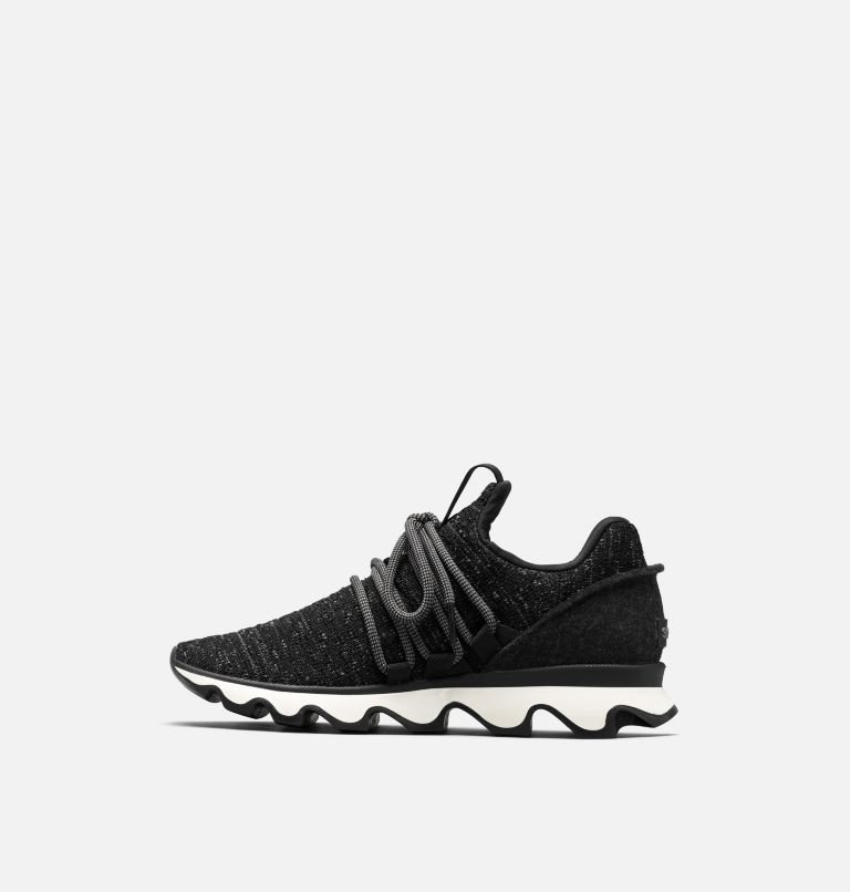 KINETIC™ LACE | 011 | 6 Women's Kinetic™ Lace Sneaker, Black, medial