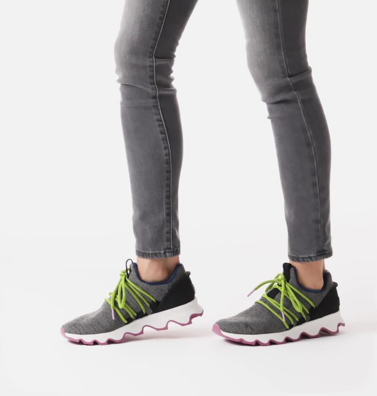KINETIC™ LACE | 052 | 12 Women's Kinetic™ Lace Sneaker, Quarry, video