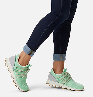 Women's Kinetic™ Lace Sneaker KINETIC™ LACE | 415 | 5, Vivid Mint, video