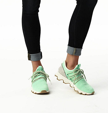 Women's Kinetic™ Lace Sneaker KINETIC™ LACE | 613 | 10, Vivid Mint, video
