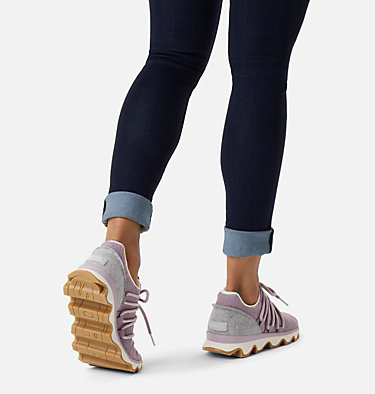 Women's Kinetic™ Lace Sneaker KINETIC™ LACE | 415 | 5, Shale Mauve, video
