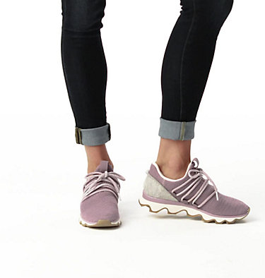 Women's Kinetic™ Lace Sneaker KINETIC™ LACE | 613 | 10, Shale Mauve, video