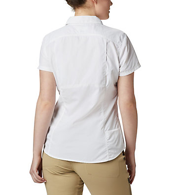 Women's Silver Ridge™ 2.0 Short Sleeve Shirt Silver Ridge™ 2.0 Short Sleeve | 100 | L, White, back