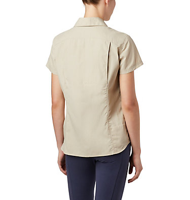Women's Silver Ridge™ 2.0 Short Sleeve Shirt Silver Ridge™ 2.0 Short Sleeve | 100 | L, Fossil, back