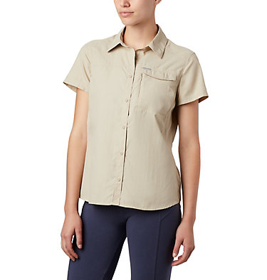 Women's Silver Ridge™ 2.0 Short Sleeve Shirt Silver Ridge™ 2.0 Short Sleeve | 100 | L, Fossil, front