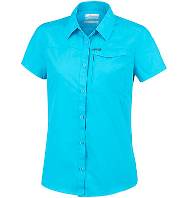 Women's Silver Ridge™ 2.0 Short Sleeve Shirt Silver Ridge™ 2.0 Short Sleeve | 100 | L, Atoll, front