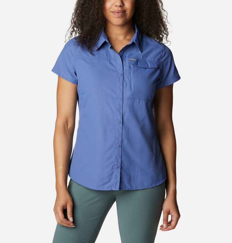 Silver Ridge™ 2.0 kurzärmlige Hemdbluse für Damen Silver Ridge™ 2.0 kurzärmlige Hemdbluse für Damen, front