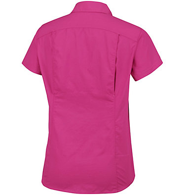 Women's Silver Ridge™ 2.0 Short Sleeve Shirt Silver Ridge™ 2.0 Short Sleeve | 100 | L, Wine Berry, back