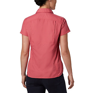 Women's Silver Ridge™ 2.0 Short Sleeve Shirt Silver Ridge™ 2.0 Short Sleeve | 100 | L, Rouge Pink, back