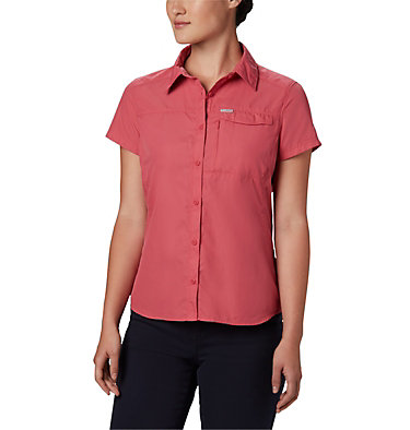 Women's Silver Ridge™ 2.0 Short Sleeve Shirt Silver Ridge™ 2.0 Short Sleeve | 100 | L, Rouge Pink, front
