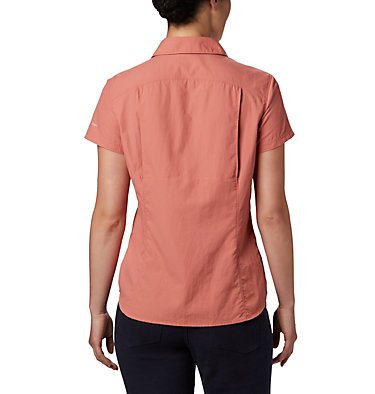 Women's Silver Ridge™ 2.0 Short Sleeve Shirt Silver Ridge™ 2.0 Short Sleeve | 100 | L, Dark Coral, back