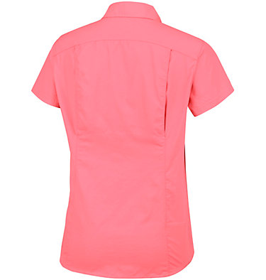Silver Ridge™ 2.0 kurzärmlige Hemdbluse für Damen Silver Ridge™ 2.0 Short Sleeve | 100 | L, Coral Bloom, back