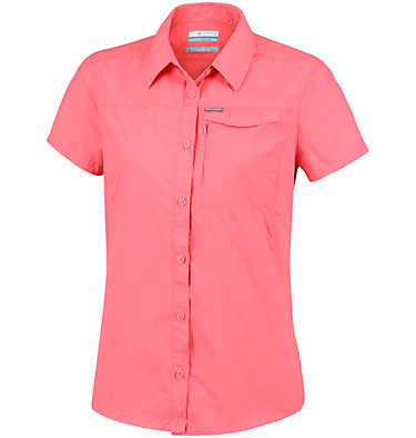 Women's Silver Ridge™ 2.0 Short Sleeve Shirt Silver Ridge™ 2.0 Short Sleeve | 100 | L, Coral Bloom, front