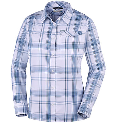 Women's Silver Ridge™ 2.0 Plaid Long Sleeve Shirt , front