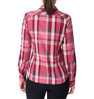 Women's Silver Ridge™ 2.0 Plaid Long Sleeve Shirt , back