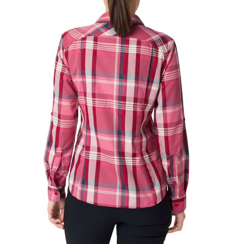 Women's Silver Ridge™ 2.0 Plaid Long Sleeve Shirt Women's Silver Ridge™ 2.0 Plaid Long Sleeve Shirt, back