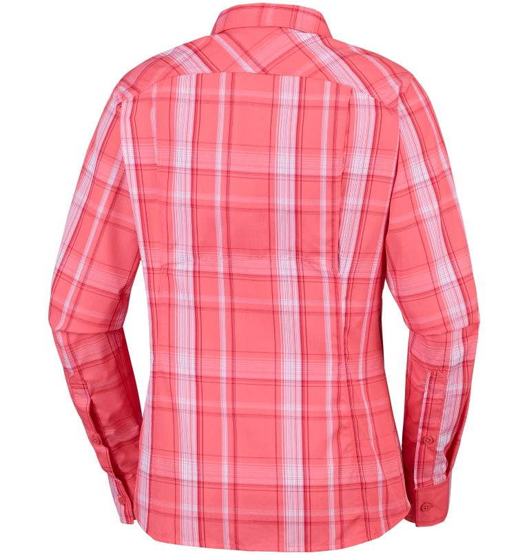 Women's Silver Ridge™ 2.0 Plaid Long Sleeve Shirt Women's Silver Ridge™ 2.0 Plaid Long Sleeve Shirt, back