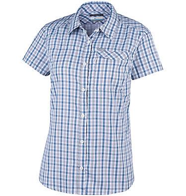 Camicia a maniche corte con motivo scozzese Silver Ridge™ 2.0 da donna Silver Ridge™ 2.0 Plaid Short  | 692 | XS, White Gingham, front