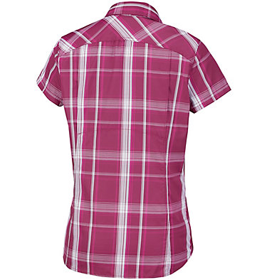 Silver Ridge™ 2.0 kurzärmlige Hemdbluse mit Karomuster für Damen Silver Ridge™ 2.0 Plaid Short  | 692 | XS, Wine Berry Large Plaid, back