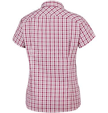 Camicia a maniche corte con motivo scozzese Silver Ridge™ 2.0 da donna Silver Ridge™ 2.0 Plaid Short  | 692 | XS, Mineral Pink Gingham, back