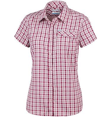 Camicia a maniche corte con motivo scozzese Silver Ridge™ 2.0 da donna Silver Ridge™ 2.0 Plaid Short  | 692 | XS, Mineral Pink Gingham, front