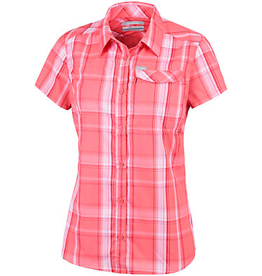 Women's Silver Ridge™ 2.0 Plaid Short Sleeve Shirt , front