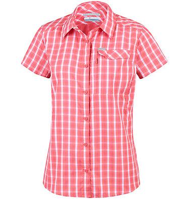 Camicia a maniche corte con motivo scozzese Silver Ridge™ 2.0 da donna Silver Ridge™ 2.0 Plaid Short  | 692 | XS, Coral Bloom Gingham, front