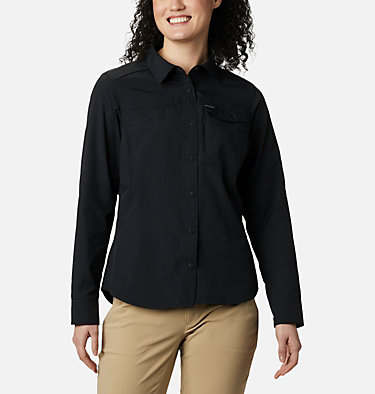 Silver Ridge™ 2.0 Langarmshirt für Damen Silver Ridge™ 2.0 Long Sleeve | 550 | S, Black, front