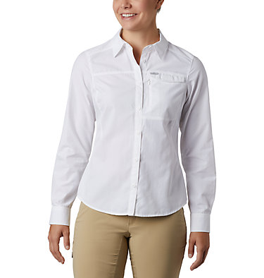 Women's Silver Ridge™ 2.0 Shirt Silver Ridge™ 2.0 Long Sleeve | 550 | S, White, front