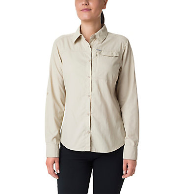 Women's Silver Ridge™ 2.0 Shirt Silver Ridge™ 2.0 Long Sleeve | 550 | S, Fossil, front