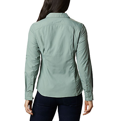 Silver Ridge™ 2.0 Langarmshirt für Damen Silver Ridge™ 2.0 Long Sleeve | 550 | S, Light Lichen, back