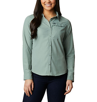Silver Ridge™ 2.0 Langarmshirt für Damen Silver Ridge™ 2.0 Long Sleeve | 550 | S, Light Lichen, front