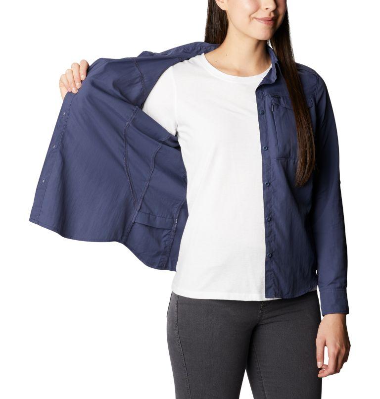Silver Ridge™ 2.0 Long Sleeve | 466 | M Women's Silver Ridge™ 2.0 Long Sleeve Shirt, Nocturnal, a4