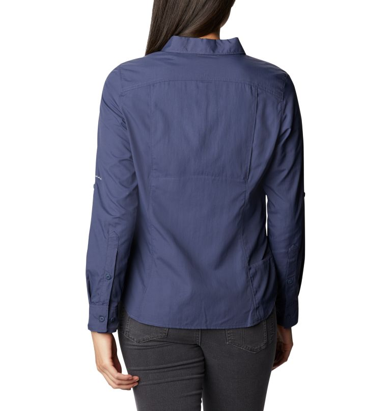 Silver Ridge™ 2.0 Long Sleeve | 466 | M Women's Silver Ridge™ 2.0 Long Sleeve Shirt, Nocturnal, back