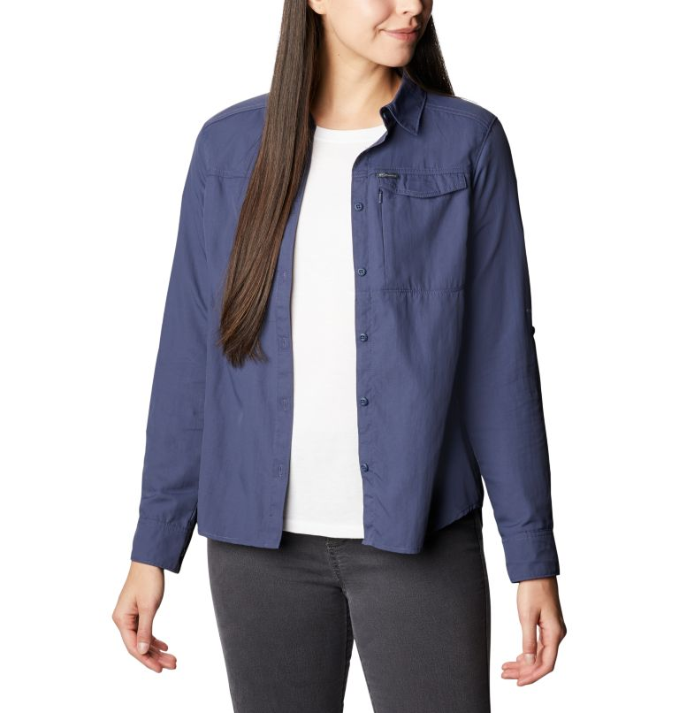 Silver Ridge™ 2.0 Long Sleeve | 466 | M Women's Silver Ridge™ 2.0 Long Sleeve Shirt, Nocturnal, front