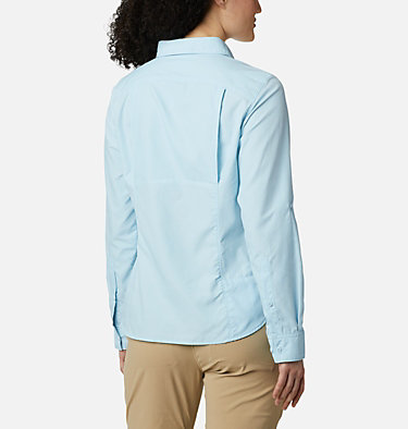 Silver Ridge™ 2.0 Langarmshirt für Damen Silver Ridge™ 2.0 Long Sleeve | 550 | S, Spring Blue, back