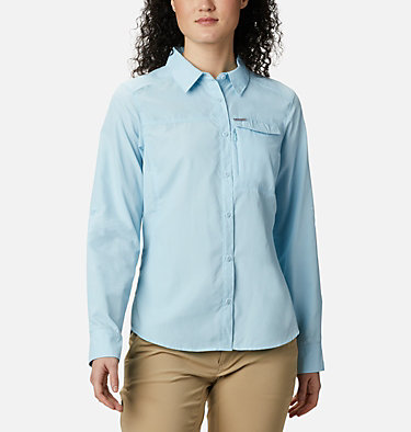 Women's Silver Ridge™ 2.0 Shirt Silver Ridge™ 2.0 Long Sleeve | 550 | S, Spring Blue, front