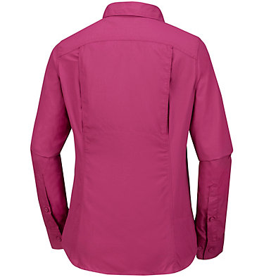 Women's Silver Ridge™ 2.0 Shirt Silver Ridge™ 2.0 Long Sleeve | 550 | S, Wine Berry, back