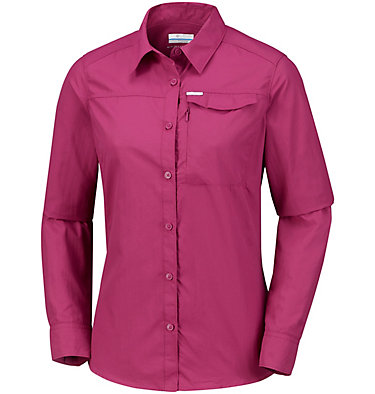 Women's Silver Ridge™ 2.0 Shirt Silver Ridge™ 2.0 Long Sleeve | 550 | S, Wine Berry, front