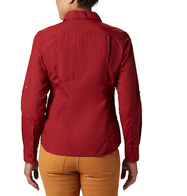 Women's Silver Ridge™ 2.0 Shirt Silver Ridge™ 2.0 Long Sleeve | 550 | S, Beet, back