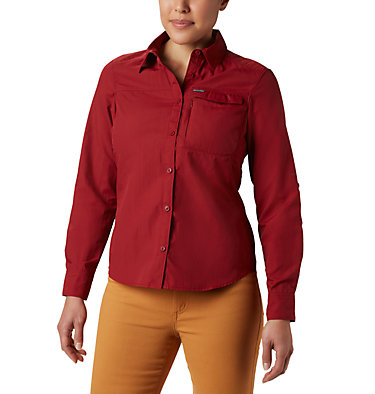 Women's Silver Ridge™ 2.0 Shirt Silver Ridge™ 2.0 Long Sleeve | 550 | S, Beet, front